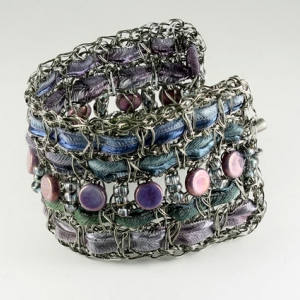 Bright charcoal beaded